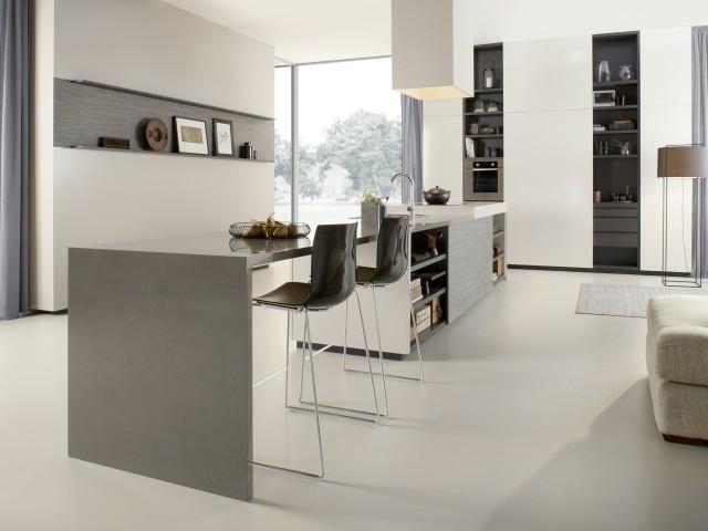 cozinha planejada em branco