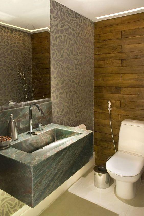 Bancadas de Banheiro com Cubas Esculpidas -> Cuba Banheiro Esculpida