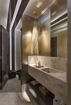cuba banheiro esculpida
