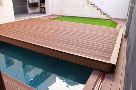 deck piscina cobertura