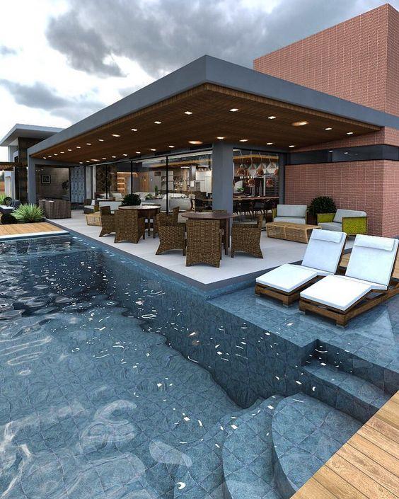 deck piscina pergolado
