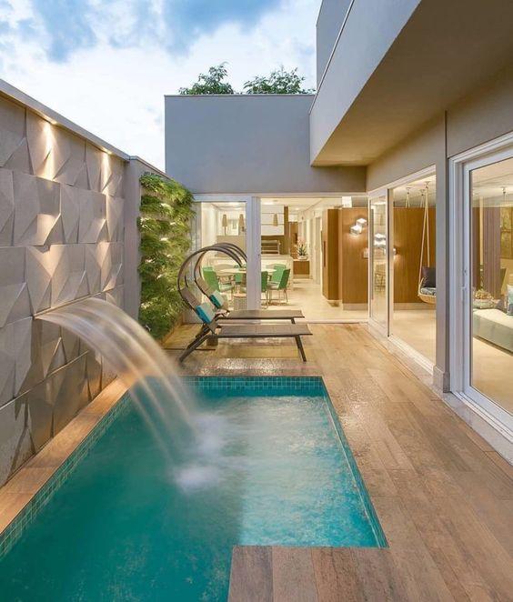 deck piscina piso