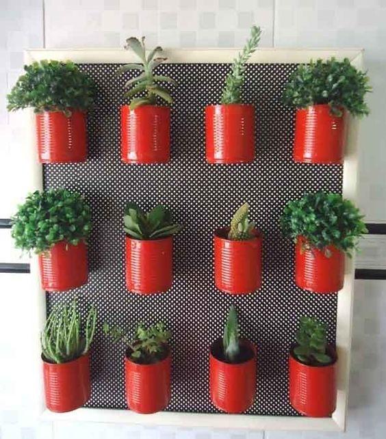 decoraçao de cozinha com reciclagem 7