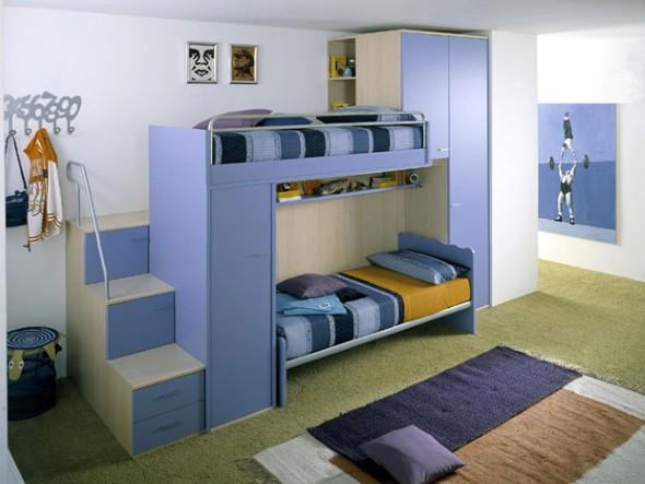 decoraçao quartos partilhados beliche
