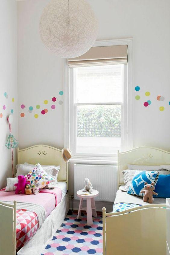 decoração de quartos partilhados irmaos