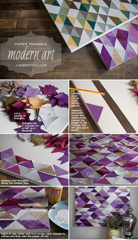 decoraçao com papel 5