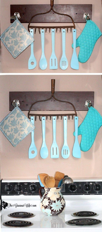 decoraçao de cozinha com reciclagem