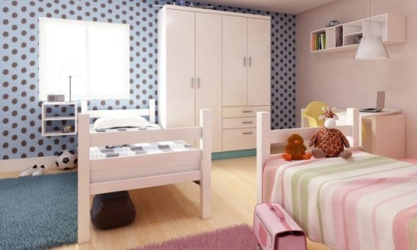 Ideias para decorar quartos de irmãos