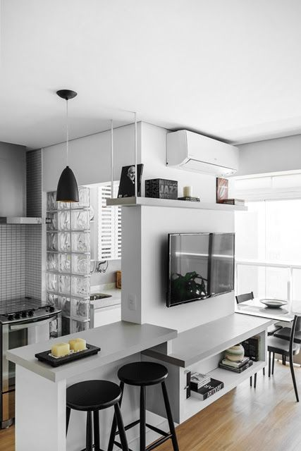 decoracao apartamento pequeno cozinha