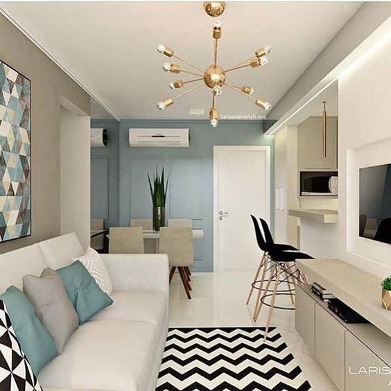 decoracao apartamento pequeno ideias 1