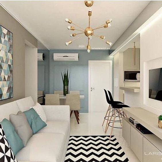 decoracao apartamento pequeno ideias