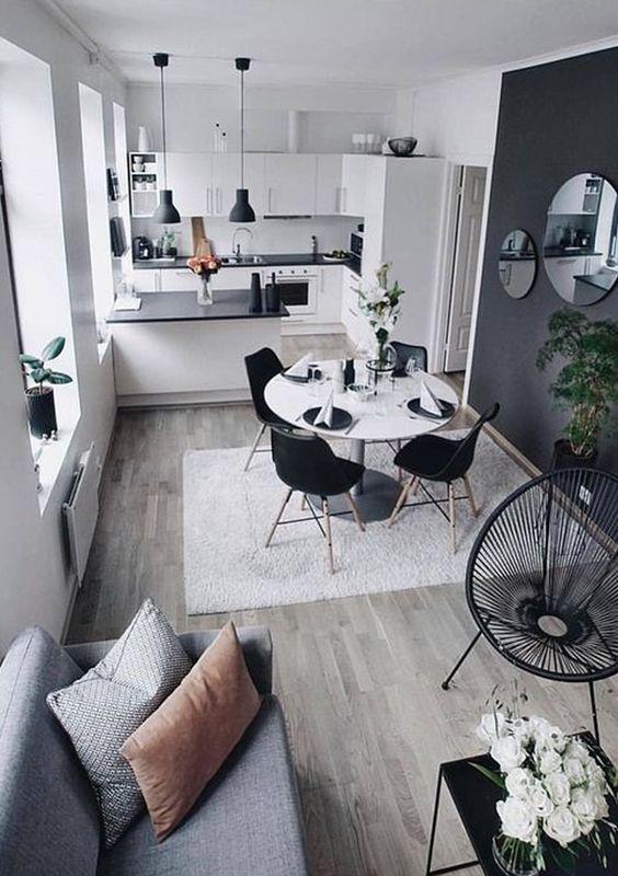decoracao apartamento pequeno sala