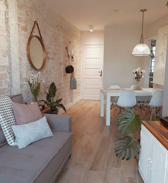 decoracao apartamento pequeno simples