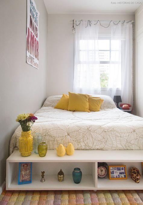 decoracao apartamento quarto colorido