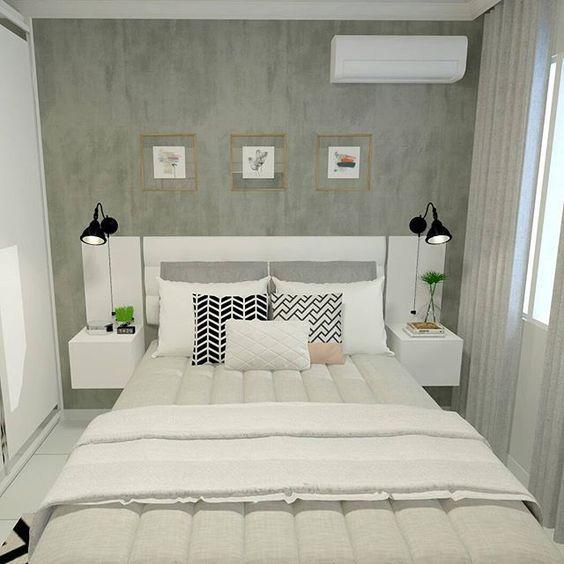 decoracao apartamento quarto minimalista