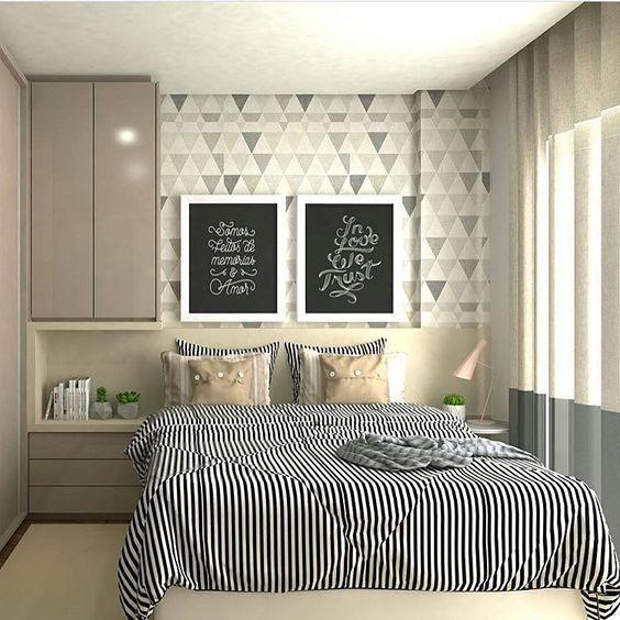 decoracao apartamento quarto