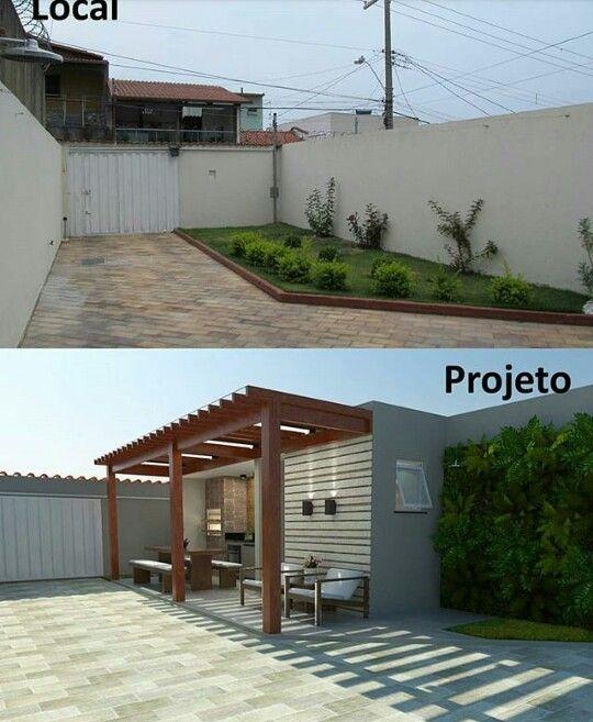 decoracao area gourmet externa projeto