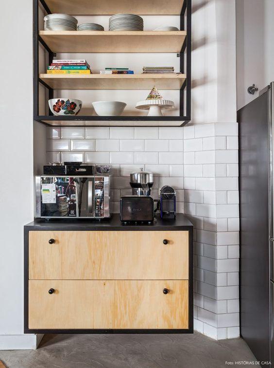 decoracao armario cozinha
