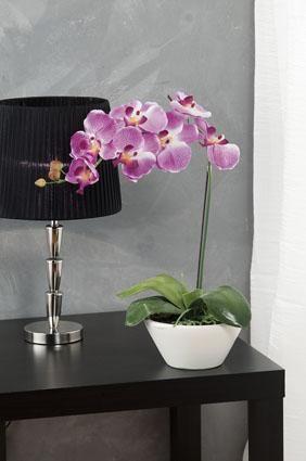 decoracao arranjo flores artificiais orquidea
