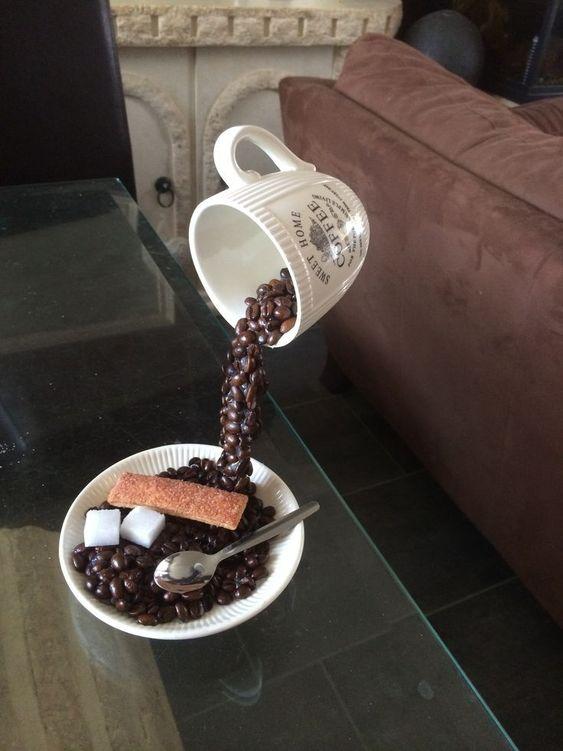 decoracao artesanato grãos cafe 7