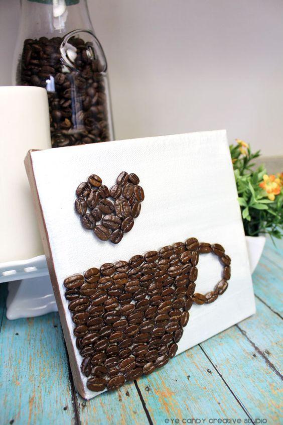decoracao artesanato grãos cafe 9