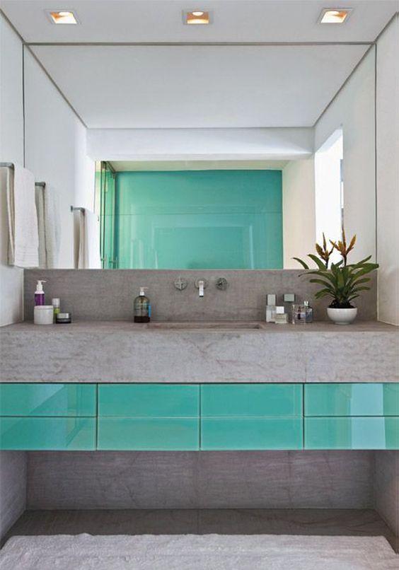 decoracao azul tiffany banheiros 1