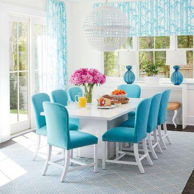 decoracao azul tiffany cadeiras
