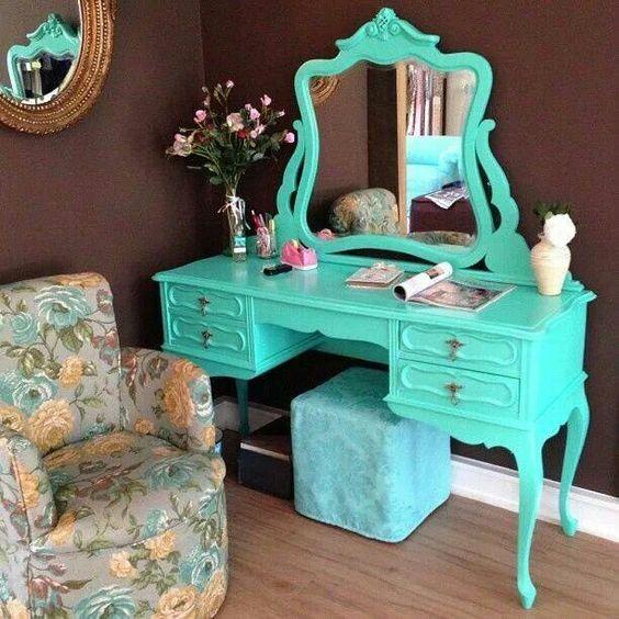 decoracao azul tiffany quarto