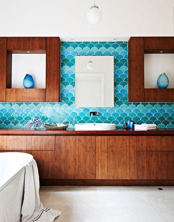 decoracao azulejo escama sereia banheiro 4