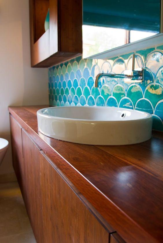 decoracao azulejo escama sereia banheiro 5