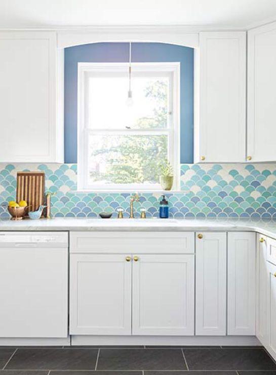 decoracao azulejo escama sereia cozinha 1