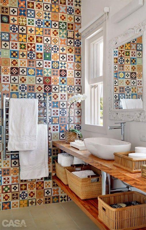 decoracao banheiro colorido 5