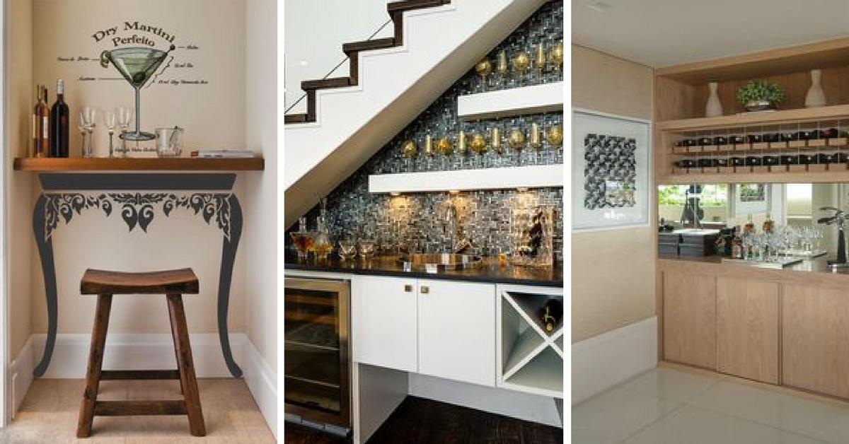 Ideias de decora o para bar em casa - Bares pequenos para casas ...