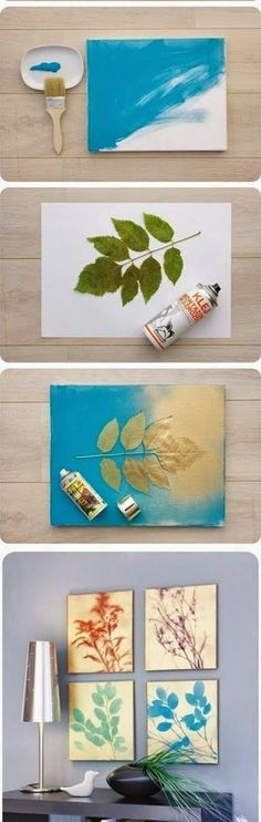 decoracao barata quadros 2