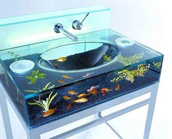 decoracao casa aquario cuba