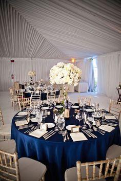 decoracao casamento azul