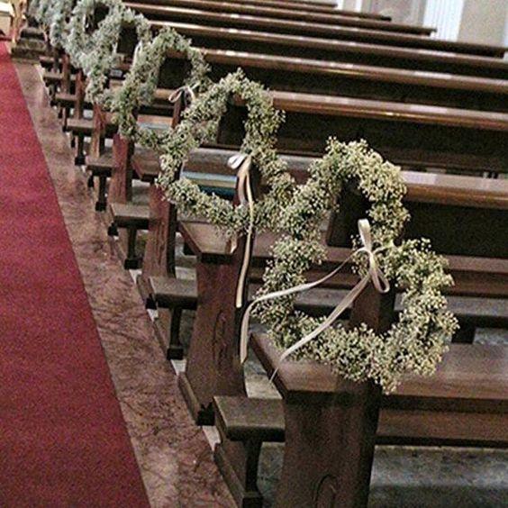 decoracao casamento simples igreja