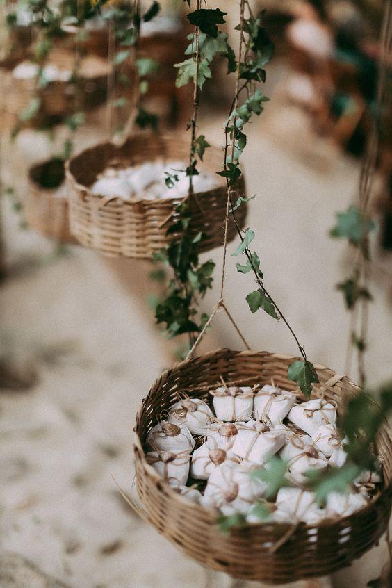 decoracao casamento simples lembrancinha