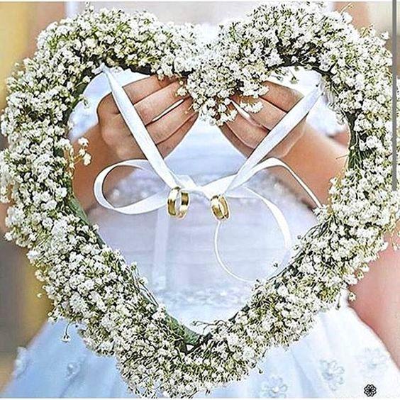 decoracao casamento simples porta aliancas
