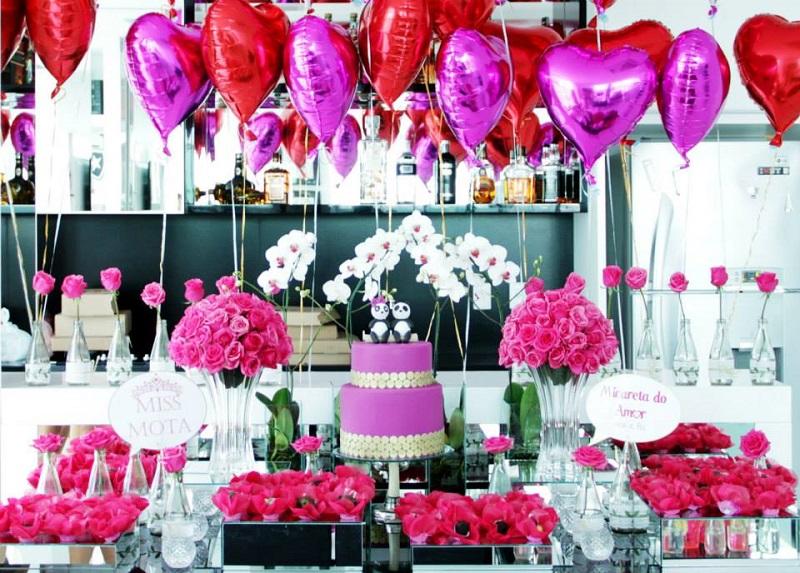 decoracao casamento tema amor 7