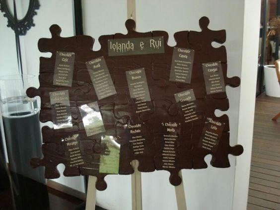 decoracao casamento tema chocolate 1
