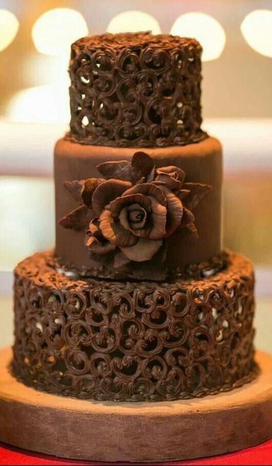 decoracao casamento tema chocolate 15