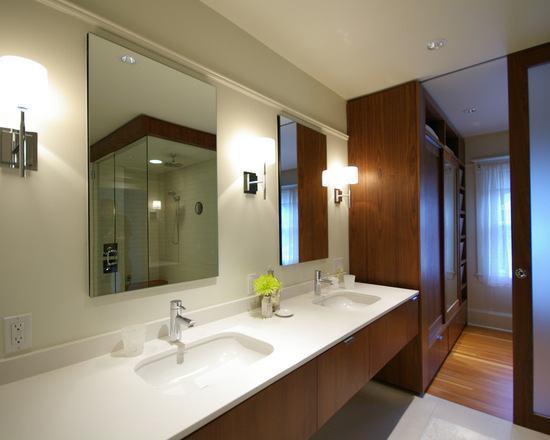 decoracao closet banheiro integrados 4