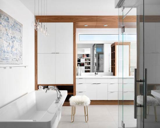 decoracao closet banheiro integrados 5