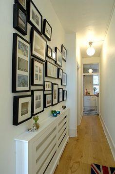 decoracao corredor quadros 1