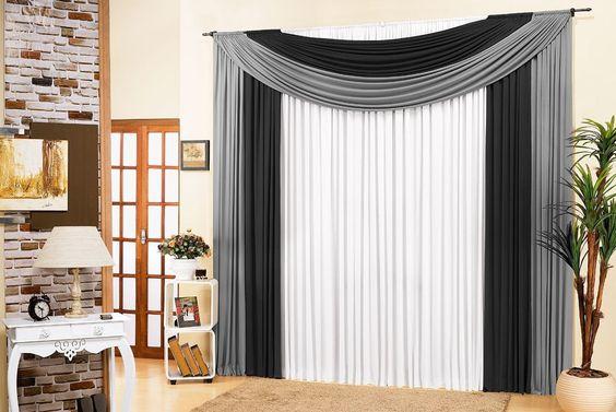 decoracao cortinas tecido 8