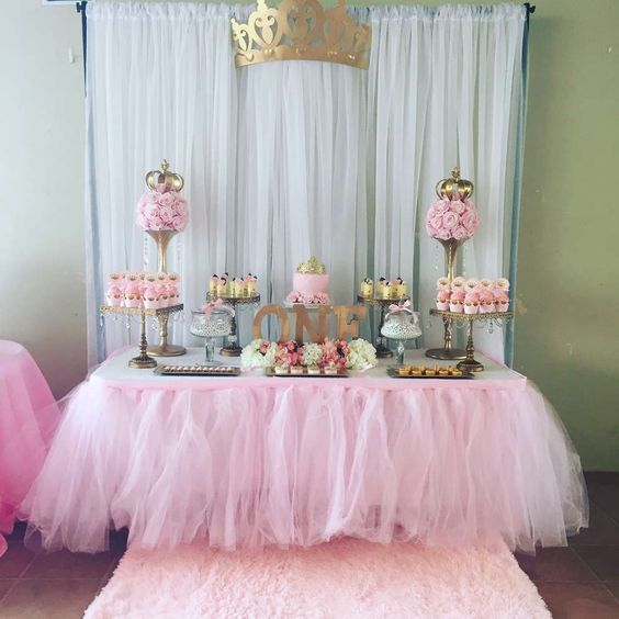 15 ideias fant sticas de decora o de festa das princesas for Decor 1 32