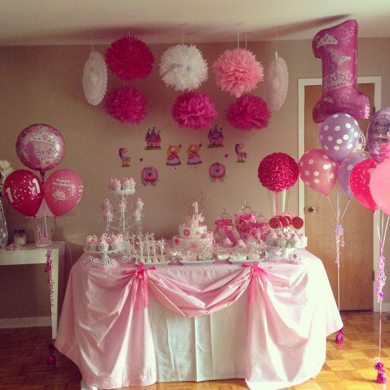 decoracao festa aniversario princesas 6