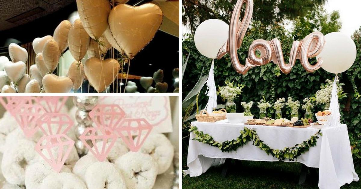 decoracao festa noivado
