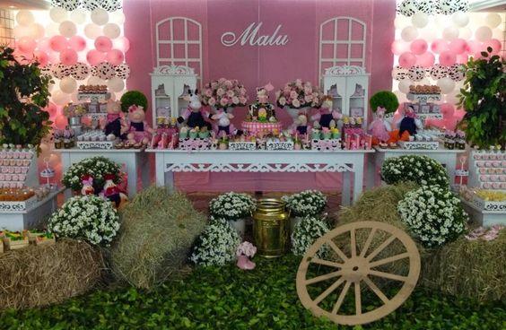 decoracao festa provencal